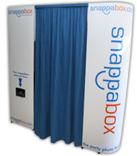 Photo Booth Hire by SnappaBox- the party photo booth